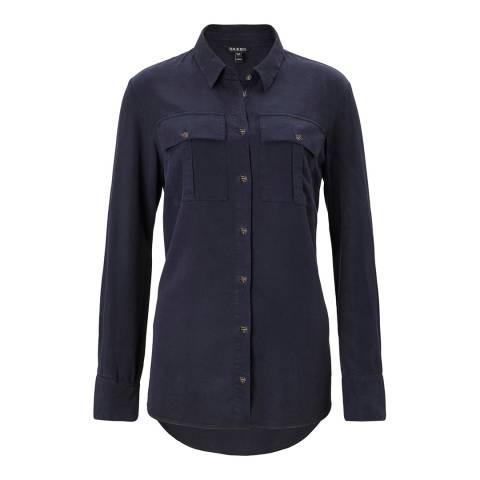 Baukjen Darkest Navy Ellen Safari Shirt