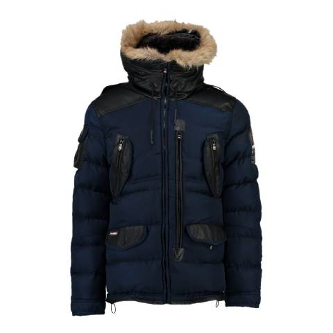 Geographical Norway Navy Buckleburry Parka