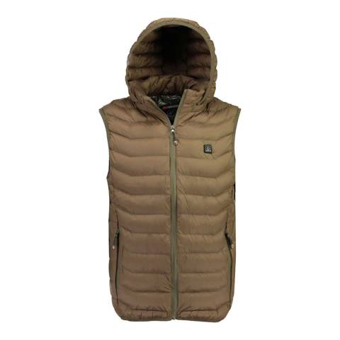 Geographical Norway Khaki Warmup Vest