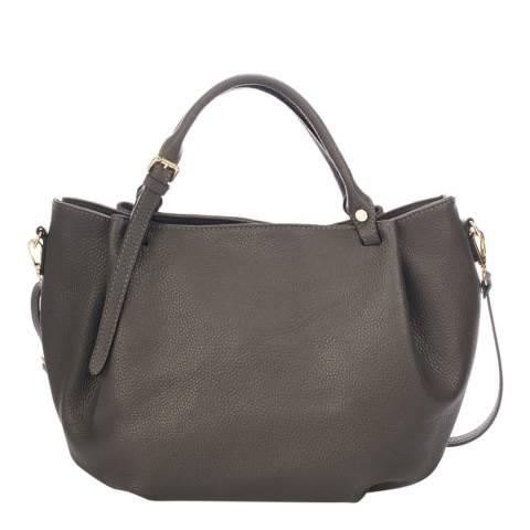 Giorgio Costa Dark Grey Leather Handbag