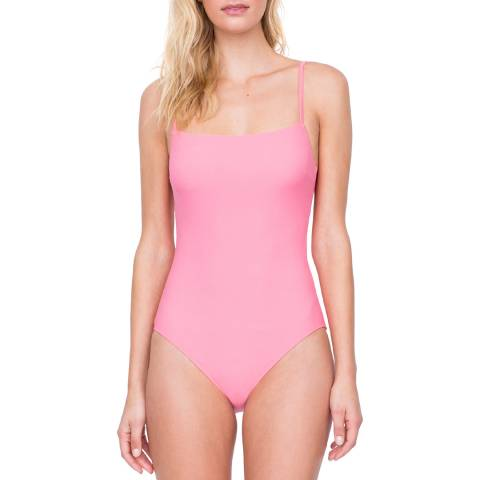 Gottex Coral Square Neck Lingerie Underwire one piece Swimsuit