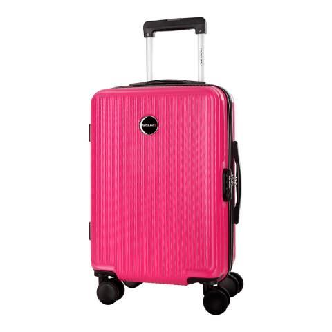 Travel One Fuchsia Armada 8 Wheel Suitcase 49cm