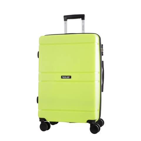 Travel One Yellow Caminera 8 Wheel Suitcase 60cm