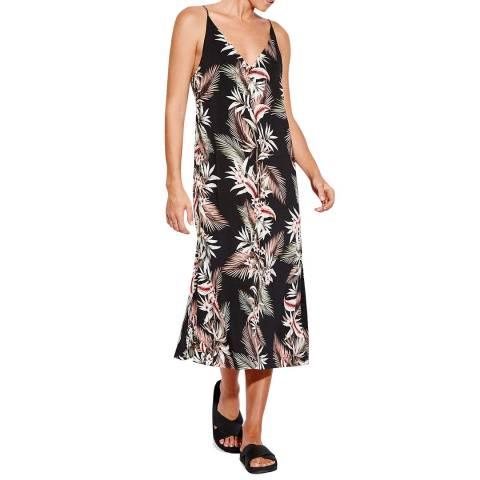 Seafolly Black Ocean Alley  Slip Dress
