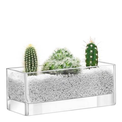 LSA Clear Modular Container 10x25x10cm