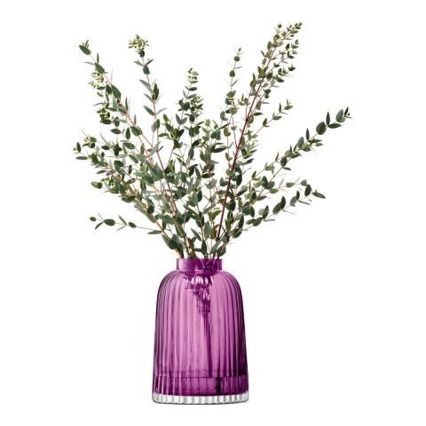 LSA Heather Pleat Vase 20cm