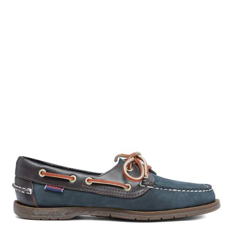 Sebago Blue Victory Nubuck Boat Shoes