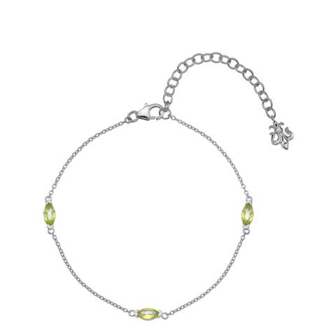 Anais Paris by Hot Diamonds Peridot Marquise Cut Bracelet
