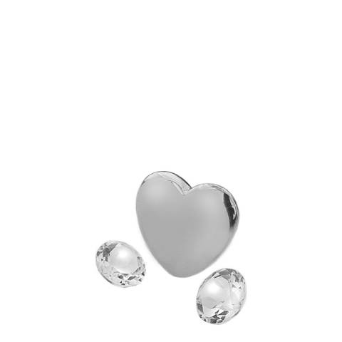 Anais Paris by Hot Diamonds April Charm with White Topaz Cabochons