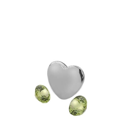 Anais Paris by Hot Diamonds August Charm with Peridot Cabochons