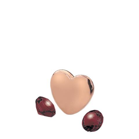 Anais Paris by Hot Diamonds Rose Gold Plated January Charm with Garnet Cabochons