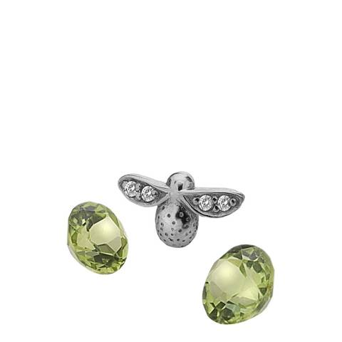 Anais Paris by Hot Diamonds Bee Charm with Peridot Cabochons