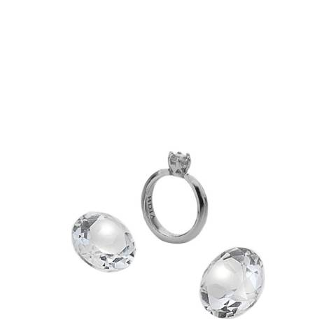 Anais Paris by Hot Diamonds Ring Charm with White Topaz Cabochons