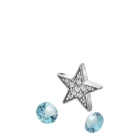 Anais Paris by Hot Diamonds Star Charm and Blue Topaz stones