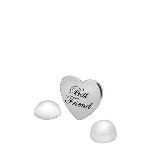 Anais Paris by Hot Diamonds Silver Moonstone Best Friend Charm