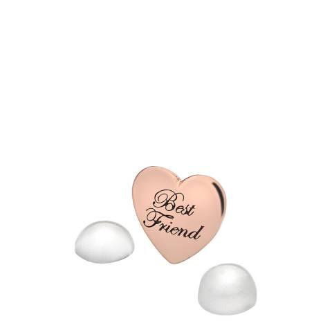 Anais Paris by Hot Diamonds Rose Gold Moonstone Best Friend Charm
