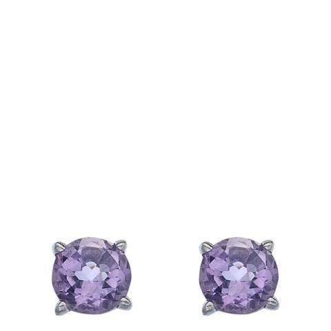 Anais Paris by Hot Diamonds Earrings - Amethyst (Gemstone)