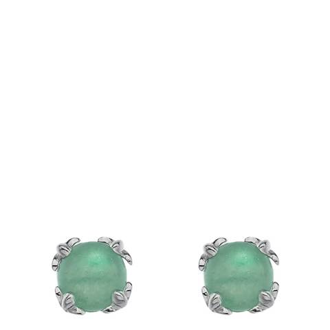 Anais Paris by Hot Diamonds Earrings - Green Aventurine (Gemstone)