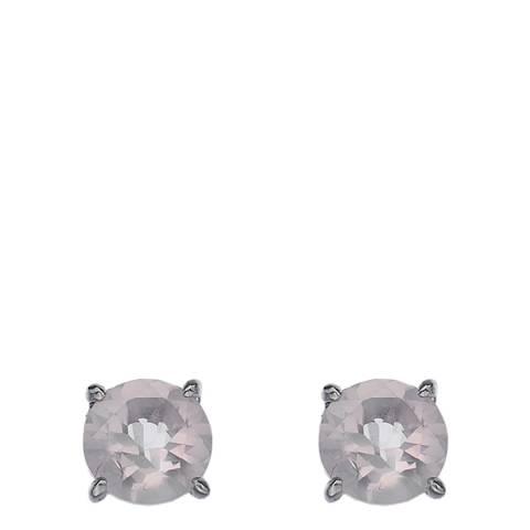 Anais Paris by Hot Diamonds Earrings - Rose Quartz (Gemstone)