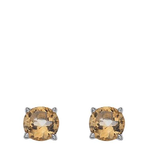 Anais Paris by Hot Diamonds Earrings - Citrine (Gemstone)