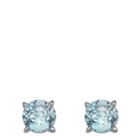 Anais Paris by Hot Diamonds Blue Topaz Gemstone Earrings