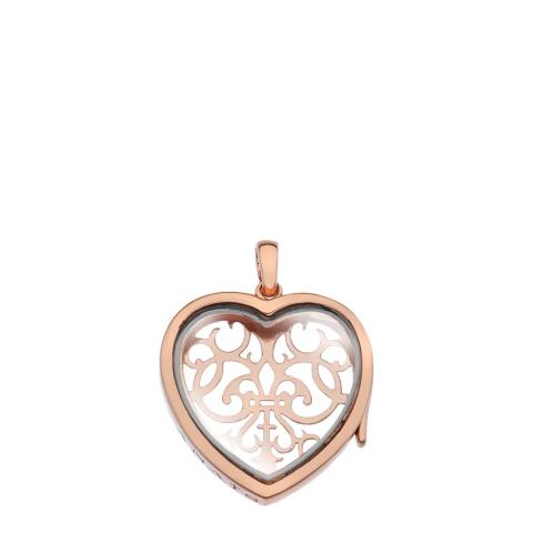 Anais Paris by Hot Diamonds Medium Filagree Heart Locket - RGP