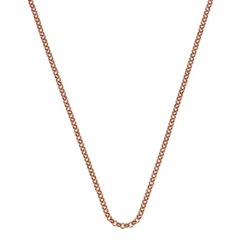 """Anais Paris by Hot Diamonds Rose Gold Plated Sterling Silver Belcher Chain 30"""""""