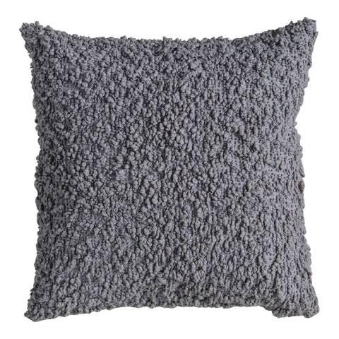 Gallery Grey Cotton Boucle Cushion 55x55cm
