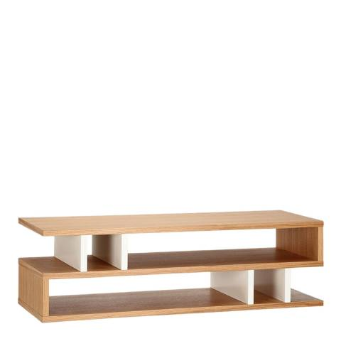 Content by Terence Conran Counter Balance, Coffee Table - Oak/White
