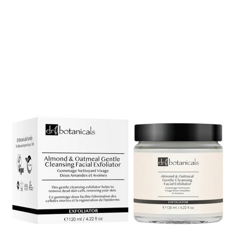 Dr. Botanicals ALMOND & OATMEAL CLEANSING EXFOLIATOR 120ml