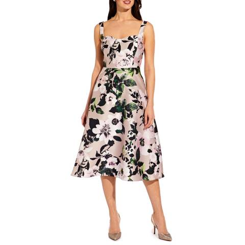 Adrianna Papell Multo Floral Printed Dress