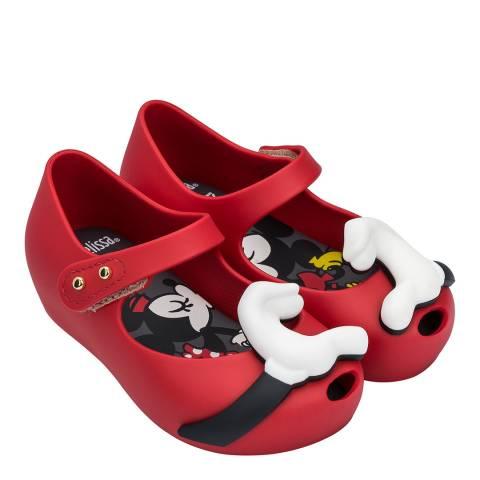 Mini Melissa Red Heart Mini Disney Ultragirl Love Shoe
