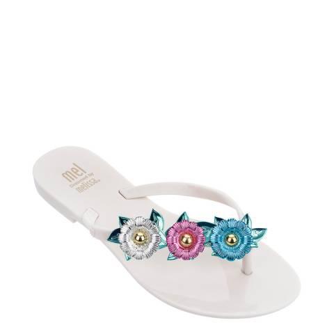 Mini Melissa Ivory Kids Harmonic Nature Sandals