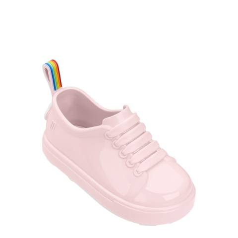 Mini Melissa Baby Pink Mini Be Rainbow Shoes