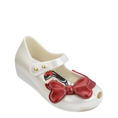 Mini Melissa Ivory Mini Ultragirl Snow White Shoe