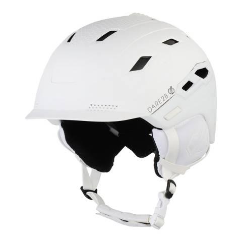 Dare2B White Lega Lightweight Ski Helmet