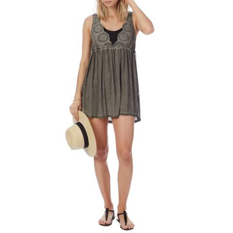 N°· Eleven Grey Broderie Anglaise Cover Up