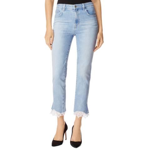 J Brand Sky Blue Ruby Cigarette Stretch Jeans