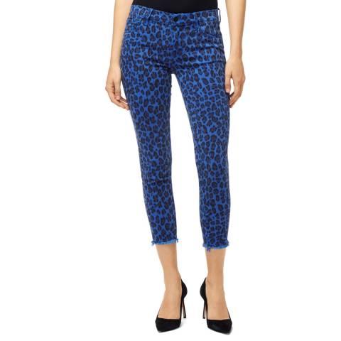 J Brand Royal Blue Jaguar 835 Crop Skinny Stretch Jeans