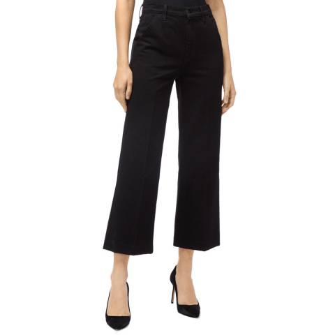 J Brand Black Trouser Crop Joan Jeans