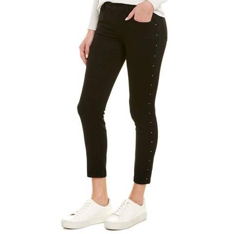 J Brand Black Krystal 835 Crop Skinny Stretch Jeans