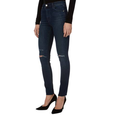 J Brand Indigo Maria Skinny Stretch Jeans