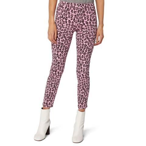 J Brand Pink 835 Crop Skinny Stretch Jeans
