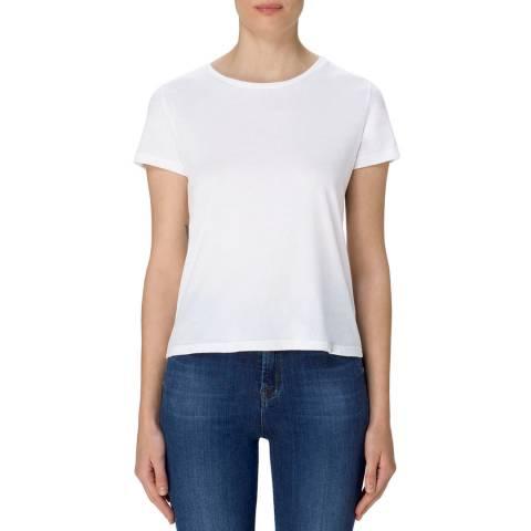 J Brand White 811 Cotton T-Shirt