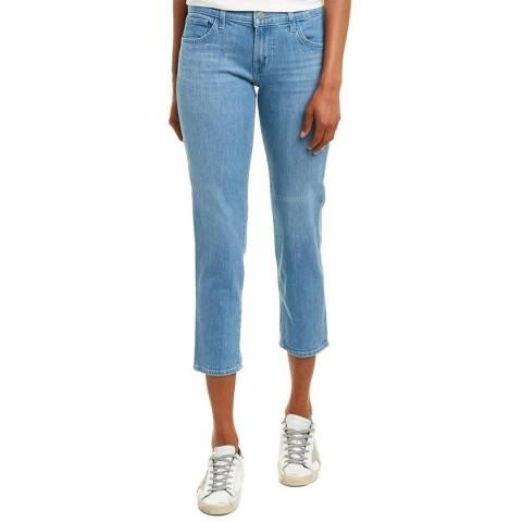 J Brand Blue Sadey Slim Straight Stretch Jeans