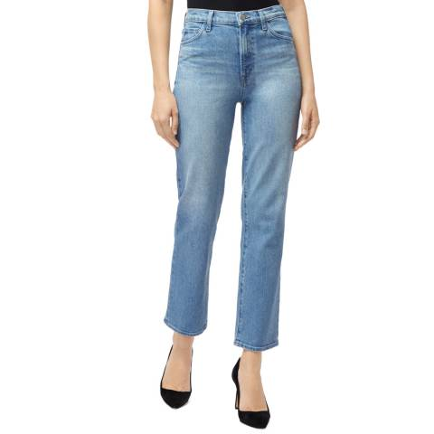 J Brand Light Blue Jules Straight Jeans