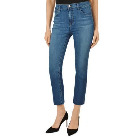 J Brand Mid Blue Ruby Cigarette Jeans