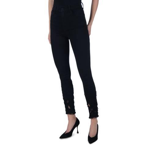 J Brand Black Leenah High Rise Skinny Jeans
