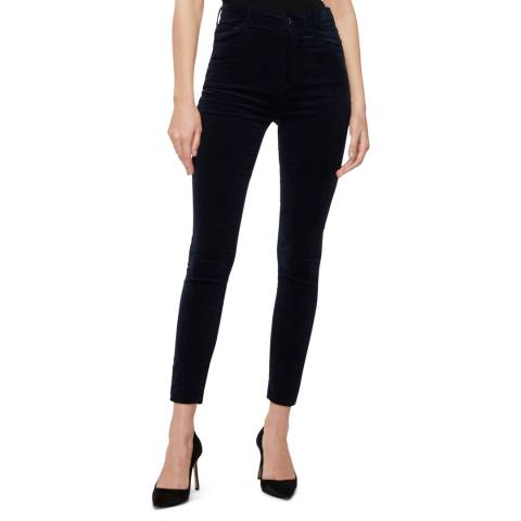 J Brand Midnight Leenah Skinny Stretch Jeans