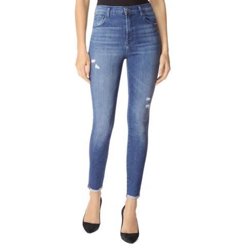 J Brand Blue Leenah Skinny Stretch Jeans